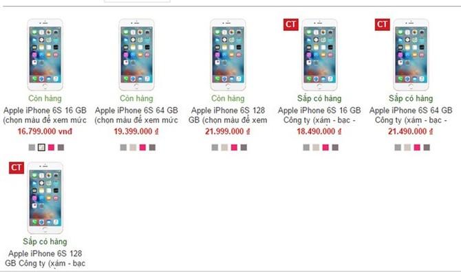 iPhone 6S tại Việt Nam tiếp tục giảm giá, sẽ về mốc 15 triệu đồng - ảnh 1