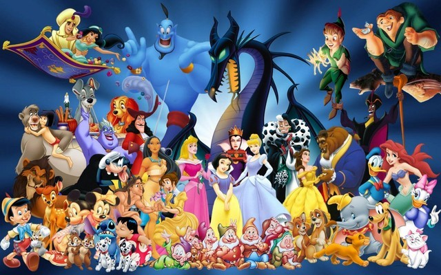 Gia đình các nhân vật của Disney