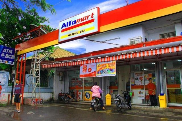 Mô hình một cửa hàng Alfamart