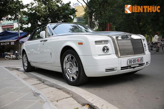 Sieu xe trieu do Rolls-Royce Phantom mui tran tai Ha Noi-Hinh-13