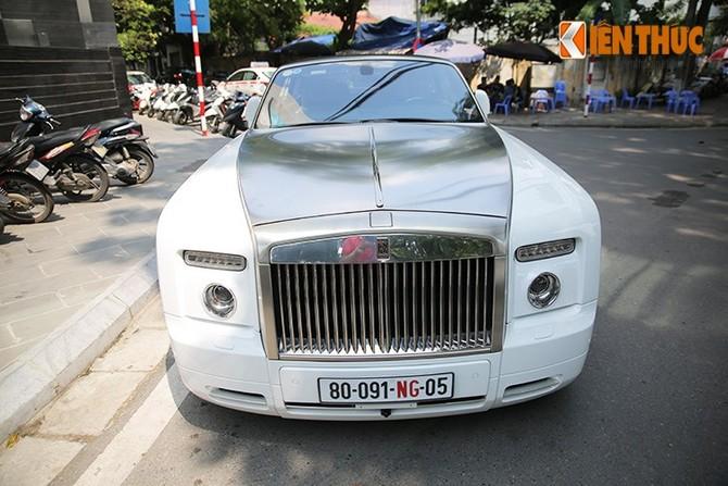 Sieu xe trieu do Rolls-Royce Phantom mui tran tai Ha Noi-Hinh-2
