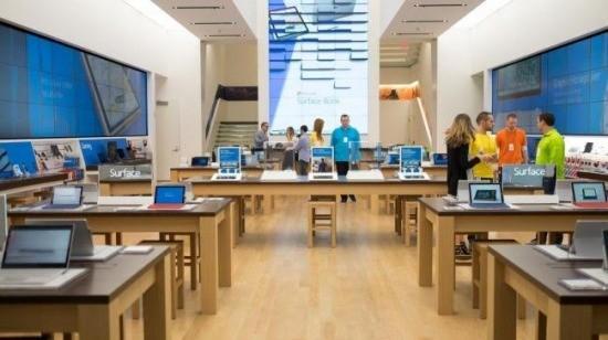 Ấn tượng cửa hàng bán lẻ hàng đầu của Microsoft