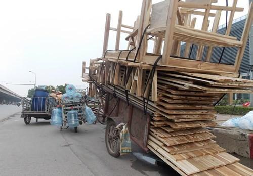 Hà Nội: Thu giữ hàng loạt xe máy cũ nát chạy trên đường - ảnh 6