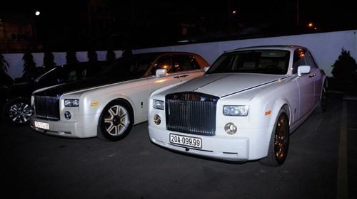 Lộ cặp đôi Rolls-Royce Phantom mạ vàng của đại gia Thái Nguyên - ảnh 3