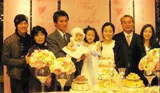 Gia đình nữ diễn viên Kim Tae Hee.