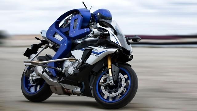 Yamaha đang tập trung phát triển sản phẩm robot đua xe.