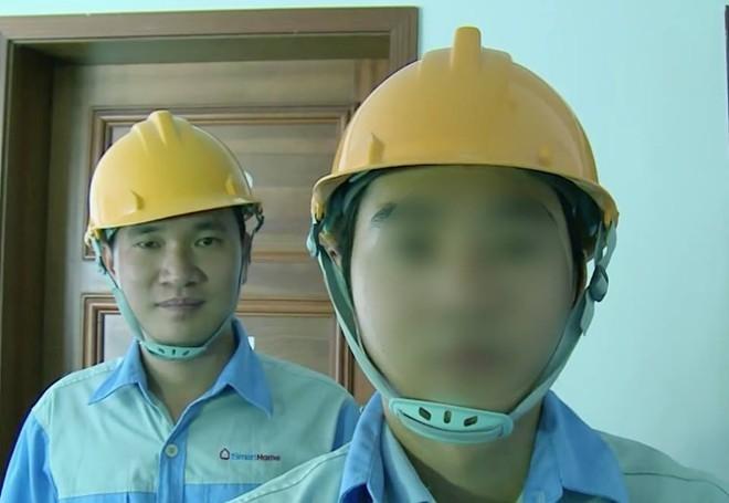 ảnh của người được cho là nhân viên Bkav xuất hiện trong clip quảng cáo nhà thông minh Smart Home
