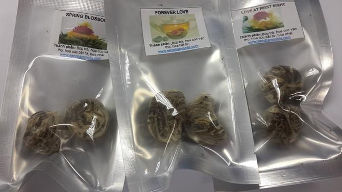 trà nở hoa, thưởng thức trà, Đài Loan, Hà thành, bình thủy tinh, trà-nở-hoa, thưởng-thức-trà, Đài-Loan, Hà-thành, pha-trà, hương vị, hương-vị