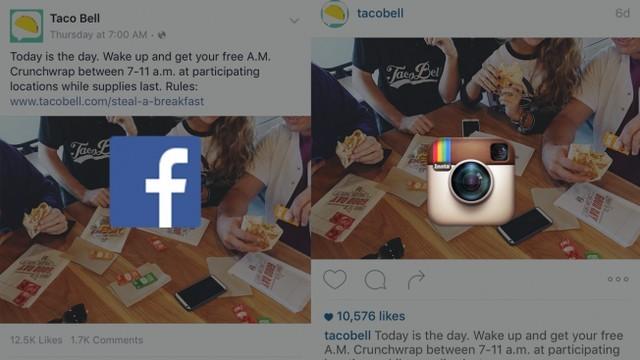 Taco Bell là công ty đã áp dụng chiến dịch quảng cáo đồng bộ này