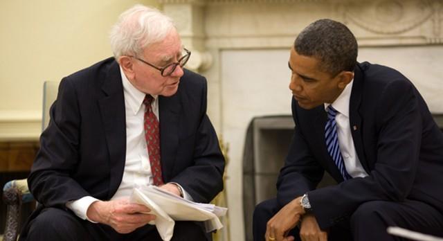 Tỷ phú Warren Buffett vè Tổng thống Mỹ Barack Obama