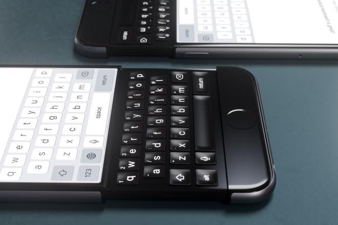 iPhone 7 bàn phím trượt dưới con mắt nhà thiết kế