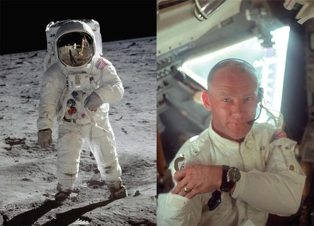 """Chiếc """"Moonwatch"""" Omega Speedmaster trở thành kẻ du hành đầu tiên trên mặt trăng cùng Buzz Aldrin"""
