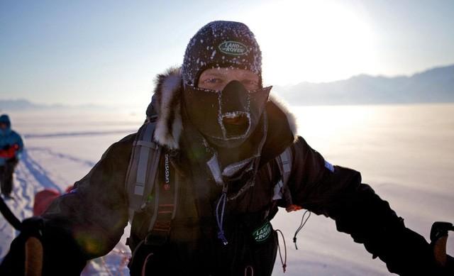 Ben Saunders ở Bắc Cực năm 2010