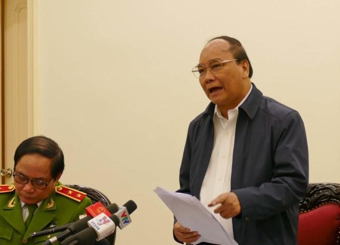 Phó thủ tướng Nguyễn Xuân Phúc - Ảnh: Lê KIên