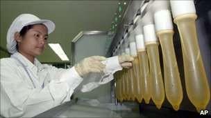Nhà máy sản xuất của Durex tại Trung Quốc