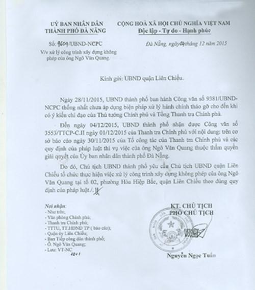 Biệt phủ rừng Hải Vân: Sẽ chính thức tháo dỡ - ảnh 2