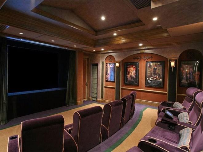 Rạp hát của dinh thự có đủ chỗ cho 20 người (ảnh minh họa).</div><div>
