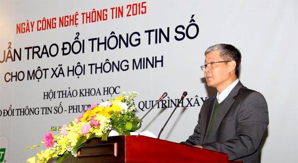 Chuan trao doi thong tin, Bo TT&TT, chuẩn trao đổi thông tin