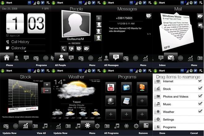 TouchFLO 3D, tiền thân của HTC Sense trên Android.