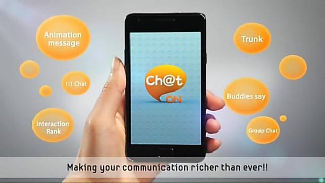 Samsung ChatOn, ứng dụng chat đã bị đóng cửa của hãng.