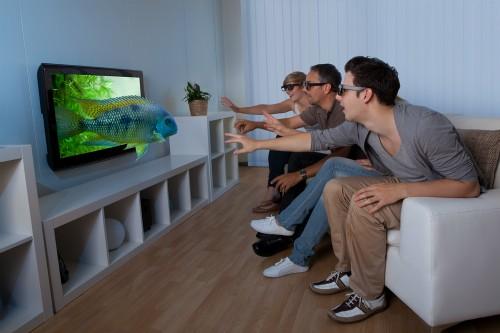 Sau những hào hứng ban đầu, TV 3D không còn được nhiều nguời sử dụng thường xuyên.