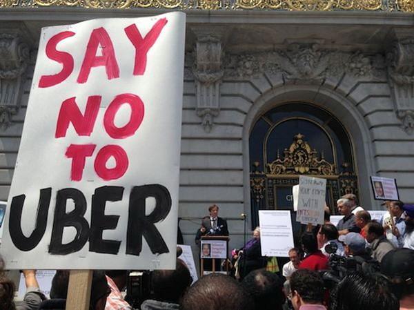 Nhiều nước trên thế giới quyết liệt phản đối Uber