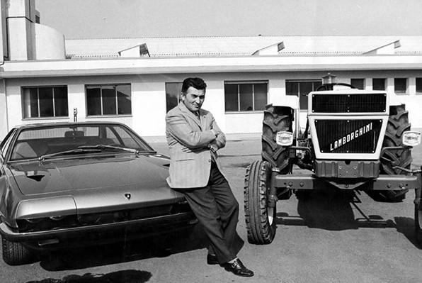 Ông Ferruccio Lamborghini từng là thợ sửa máy kéo