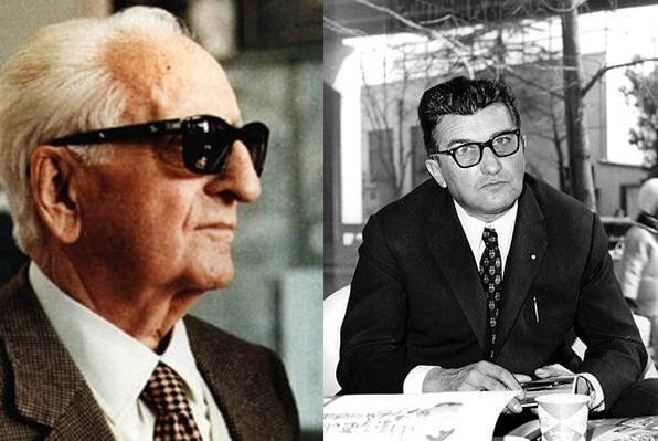 Enzo Ferrari vs Ferruccio Lamborghini
