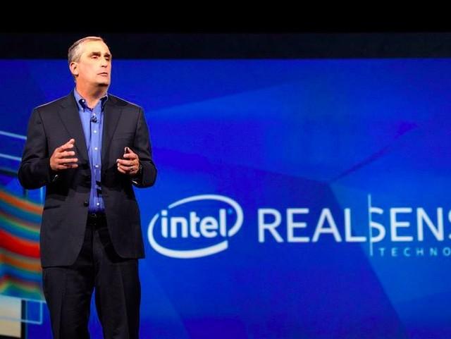 CEO Brian Krzanich của Intel