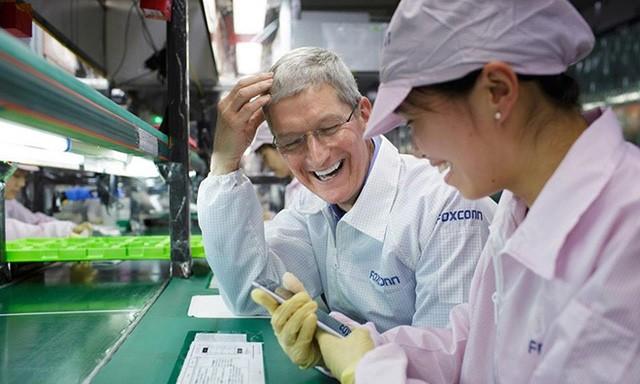 Nhà máy Foxconn tại Trung Quốc cũng là nơi cho ra đời những chiếc iPhone đầu bảng.