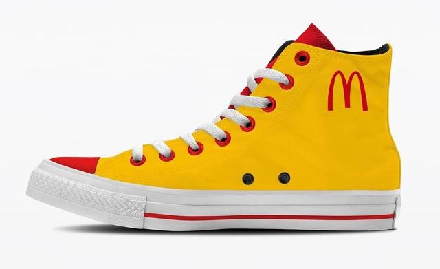 Thậm chí thương hiệu đồ ăn nhanh McDonald's cũnng có tên trong danh sách này