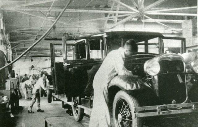 Xưởng sản xuất của Ford tại Nhật Bản