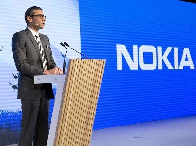 CEO Nokia, ông Rajeev Suri.
