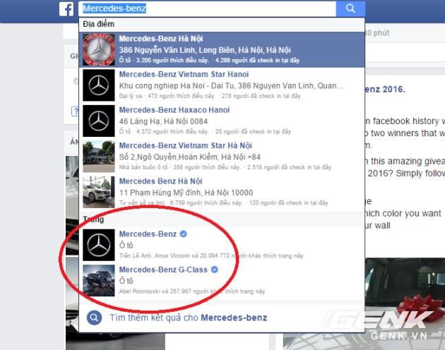 Các fanpage đã được chính Facebook xác thực luôn đáng tin cậy hơn.