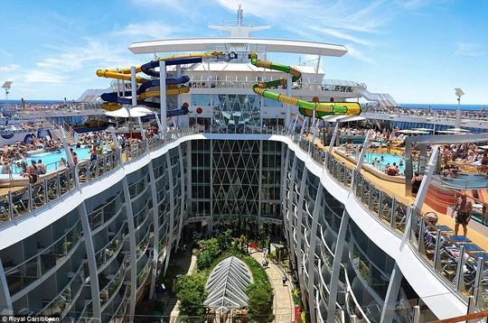 Siêu du thuyền trị giá 1,1 tỉ USD. Ảnh: Royal Caribbean