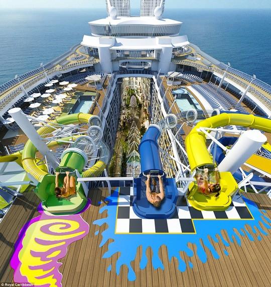 Du thuyền có 16 tầng. Ảnh: Royal Caribbean