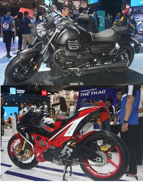 motor phân khối lớn, xe phân khối lớn, thị trường, mẫu xe, thương hiệu, dân chơi Việt, thuế nhập khẩu.