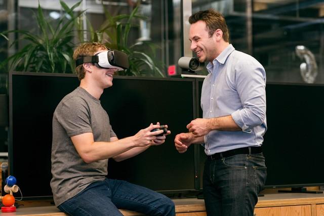 Thực tế ảo, một công nghệ đang được Facebook đầu tư mạnh tay.