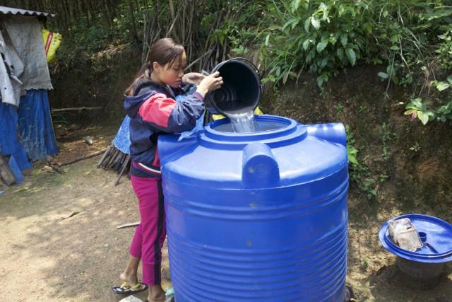 nước sạch, hạn hán, khô khát, khó khăn, nghèo đói, dân tộc thiểu số