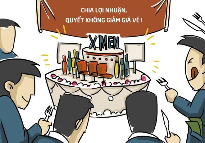 Thực tế, tất cả các doanh nghiệp phát hành và sở hữu cụm rạp đều đang có lãi khi hoạt động tại thị trường Việt Nam. Yêu cầu doanh thu cao, chi phí cao của CGV cũng xuất phát từ việc hãng cho rằng mình phải bỏ nhiều tiền hơn để đầu tư cụm rạp chất lượng tốt mà doanh thu không chiếm phần hơn là thiếu hợp lý.