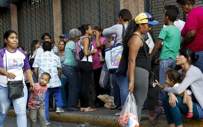"""con ac mong"" tai cac cua hang, sieu thi tai venezuala hinh 4"