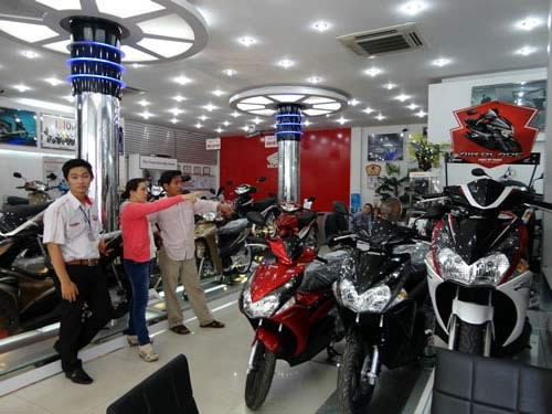 Phân khúc xe côn tay, xe máy, mẫu xe, thị trường, thị phần, DN, sản xuất, cạnh tranh.