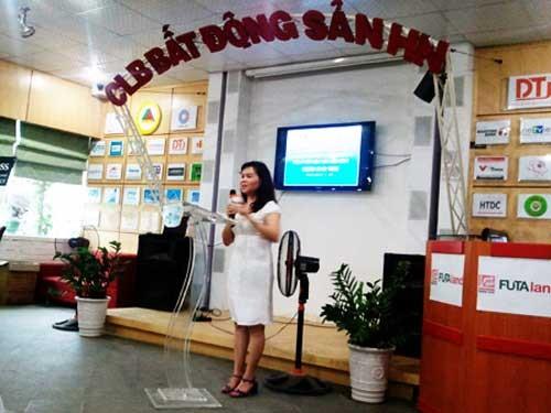 Bà Phan Thị Bích Hằng nói về thị trường địa ốc