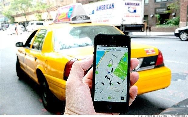Bo nganh van cai nhau: Uber ung dung huong loi hinh anh 2