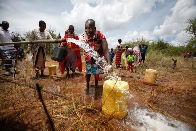 Một dự án nước sạch của NGO tại Kenya