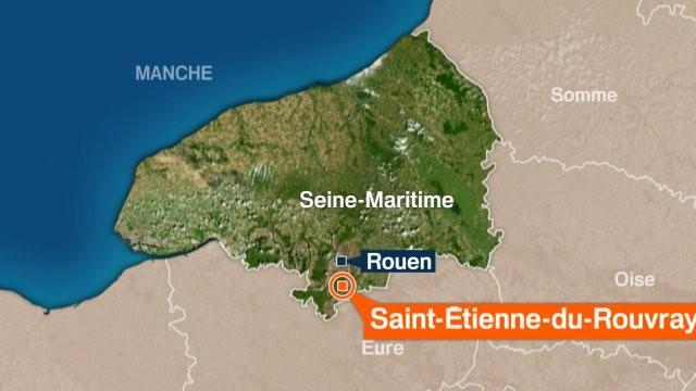 2 kẻ có vũ trang bắt giữ con tin trong nhà thờ ở Pháp - Ảnh 2.