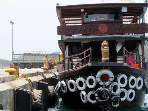 Tàu du lịch bị đâm chìm ngay tại cảng - ảnh 3