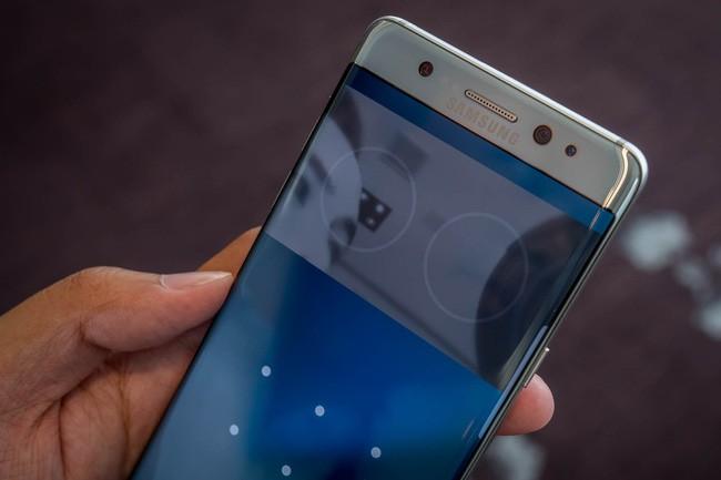 Chân dung Note7, smartphone cao cấp mới nhất của Samsung.
