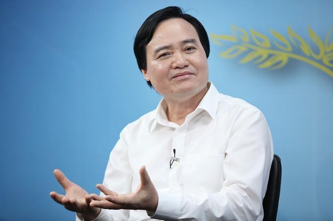 thu hút nhân tài, GS Ngô Bảo Châu, Bộ trưởng Phùng Xuân Nhạ, bàn tròn trực tuyến