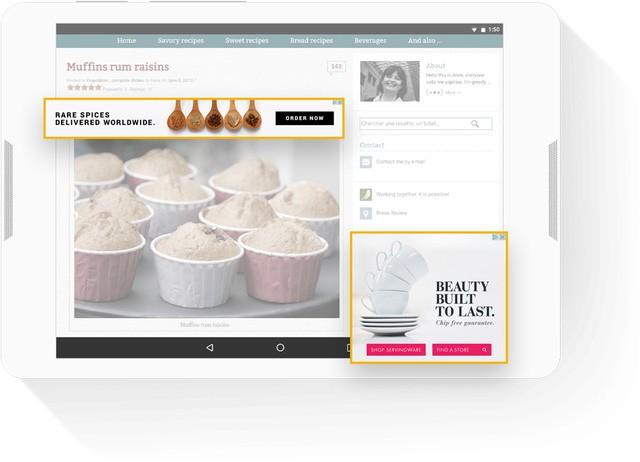 Các banner quảng cáo Google Adsense thường gây khó chịu cho người đọc